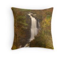 Falls of Moness, Moness Burn, Aberfeldy, Perthshire, Scotland Throw Pillow