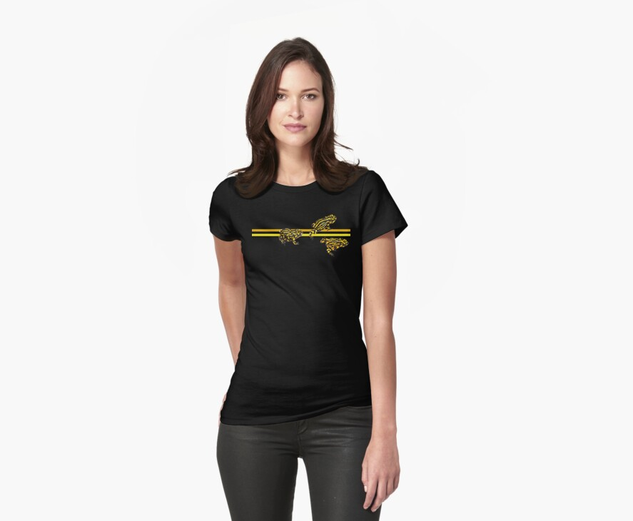 Corroboree frog tee by Laura Grogan