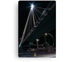 Golden Jubilee Bridge Canvas Print