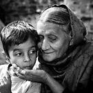 Grandmother's love by Alexander Meysztowicz-Howen