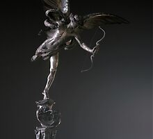 Eros -Statue of Anteros on the Shaftesbury Monument by Pig's Ear Gear