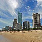 Surfers Paradise, Queensland by Leanne Allen