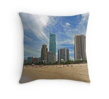 Surfers Paradise, Queensland Throw Pillow