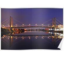George Street Bridge Newport Poster