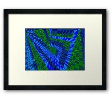 Greeny Goo Framed Print