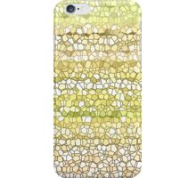 Mustard Beach Grid iPhone Case/Skin
