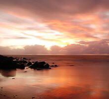 4 Mile Beach Sunrise - Port Douglas - QLD - Australia by Chris Sanchez