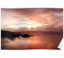 4 Mile Beach Sunrise - Port Douglas - QLD - Australia Poster