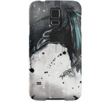 Teal raven Samsung Galaxy Case/Skin