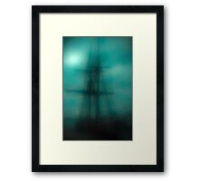 Dangerous Waters Framed Print