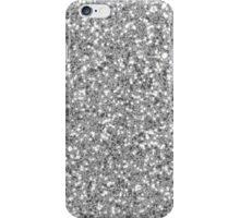 Silver Glitter Look-like iPhone Case/Skin