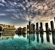 Dubai Mall Cityscape by springwatcher