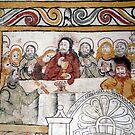 The Holy Communion of Väverlunda Medieval Church by HELUA