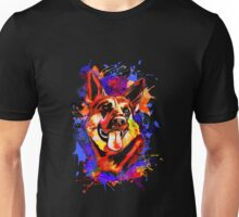 Wolf abstract. Unisex T-Shirt