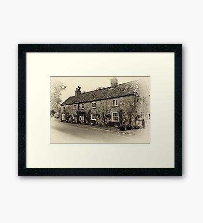Coxwold Tea Rooms  Framed Print