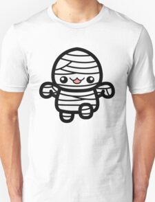 Cute Cartoon Halloween Mummy T-Shirt