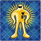 Gold Starman  by likelikes