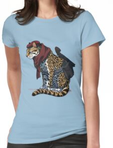 Revolver Ocelot Womens Fitted T-Shirt