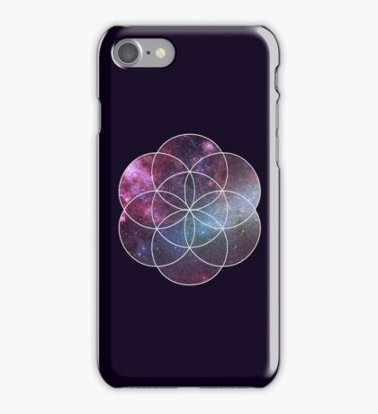 Cosmic Seed of Life iPhone Case/Skin