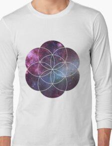 Cosmic Seed of Life Long Sleeve T-Shirt