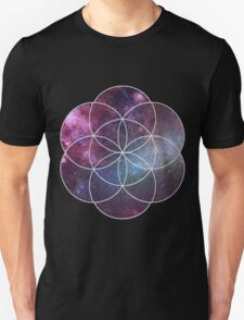 Cosmic Seed of Life Unisex T-Shirt