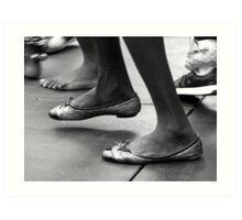 """""""Dancing helps my head forget"""" Art Print"""