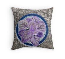 Chernobyl flower Throw Pillow
