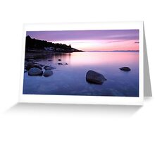Corrie Sunset Greeting Card