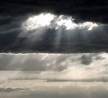 Behind Every Dark Cloud is a Silver Lining by Jan  Tribe