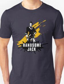 Handsome Jack (Colored BG) T-Shirt