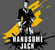 Handsome Jack (Colored BG) by WondraBox