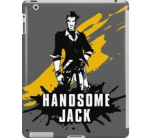Handsome Jack (Colored BG) iPad Case/Skin