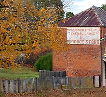 Robert Northey General Produce - Hill End NSW Australia by Bev Woodman