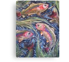 Rainbow Rush Canvas Print