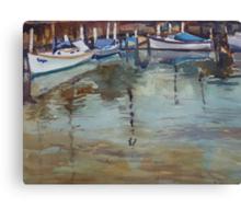Boat Anchorage at Port Fairy, Victoria Canvas Print