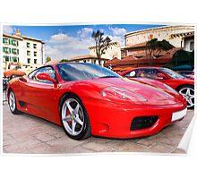 Ferrari Show Day - 360 Modena Poster