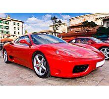 Ferrari Show Day - 360 Modena Photographic Print