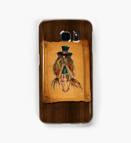 Who is the Mad Hatter ? Samsung Galaxy Case/Skin