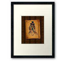 Who is the Mad Hatter ? Framed Print
