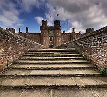 Herstmonceux Castle by Sarah  Dawson