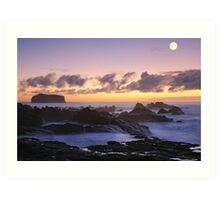 Seascape in Mosteiros Art Print