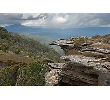 Up in the Tasmanian mountains again. Photographic Print
