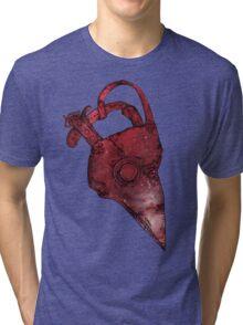 Plague Doctor Mask Tri-blend T-Shirt