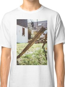 Old Rural Fence Classic T-Shirt