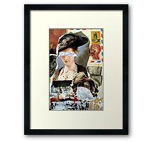 LETTRE Framed Print
