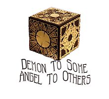 Demon To Some, Angel to Others Photographic Print