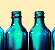 Blue Bottle Necks by adriangeronimo