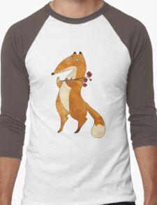 Fox & Flower Men's Baseball ¾ T-Shirt