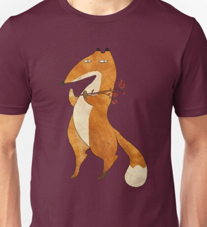 Fox & Flower Unisex T-Shirt