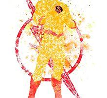 Supervillian Splatter Art by ProjectPixel